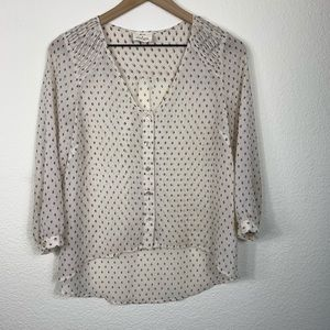 Urban Outfitters Pins & Needles Sheer Blouse